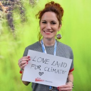"""Love Land for Climate."" — Andjela Ristic, UNDP"