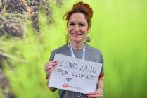 """Love Land for Climate."" — Andjela Ristic, UNDP"